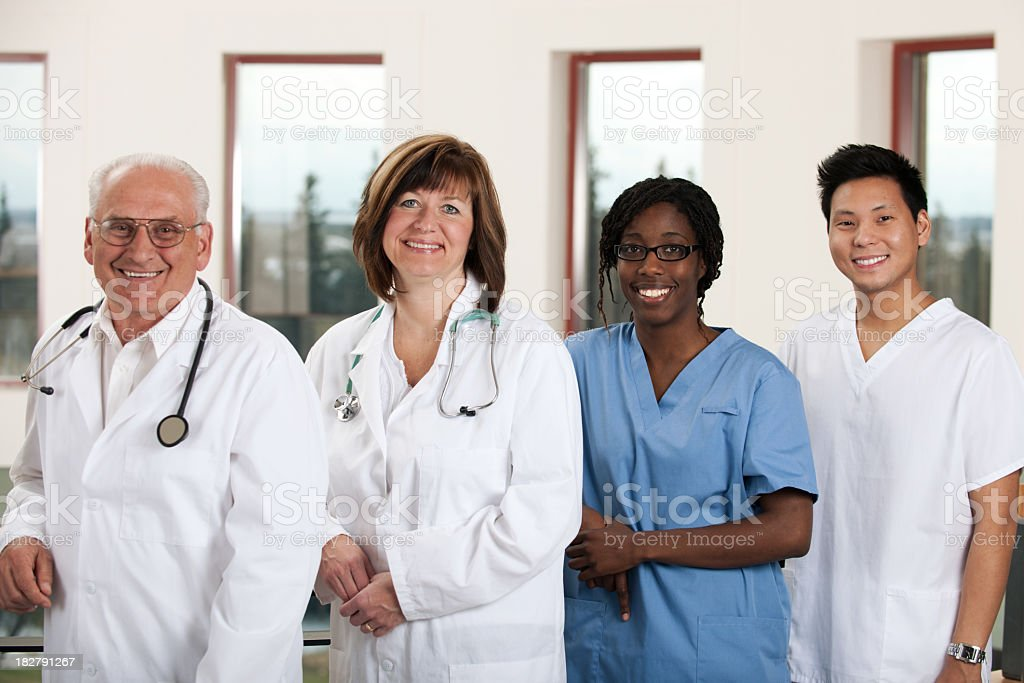 Medical staff royalty-free stock photo