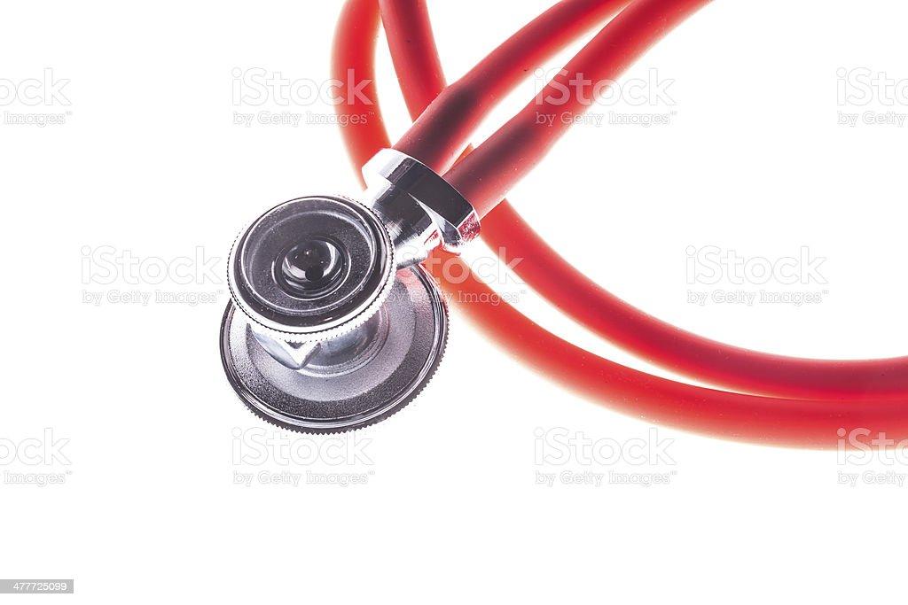 Medical stethoscope royalty-free stock photo