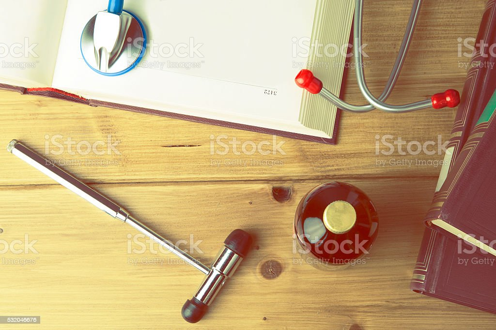 medical student s tools stock photo