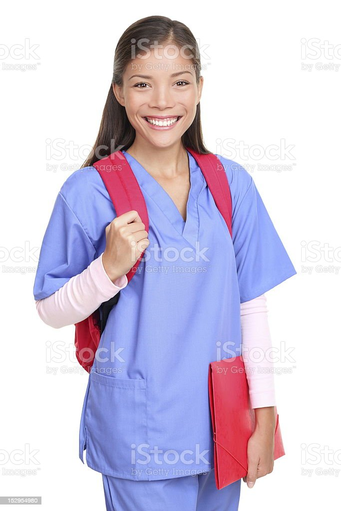 Medical student woman royalty-free stock photo