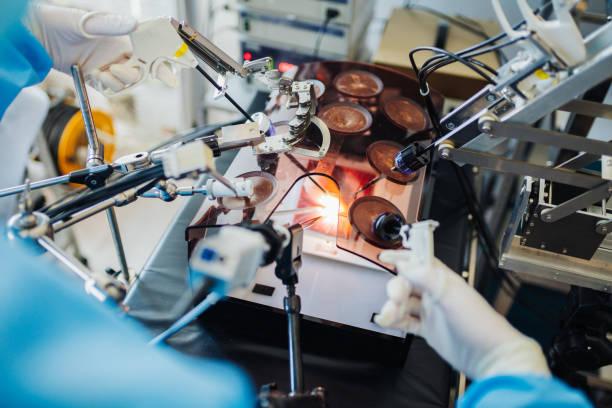 鍵穴手術の実践医学生 - 医療処置 ストックフォトと画像