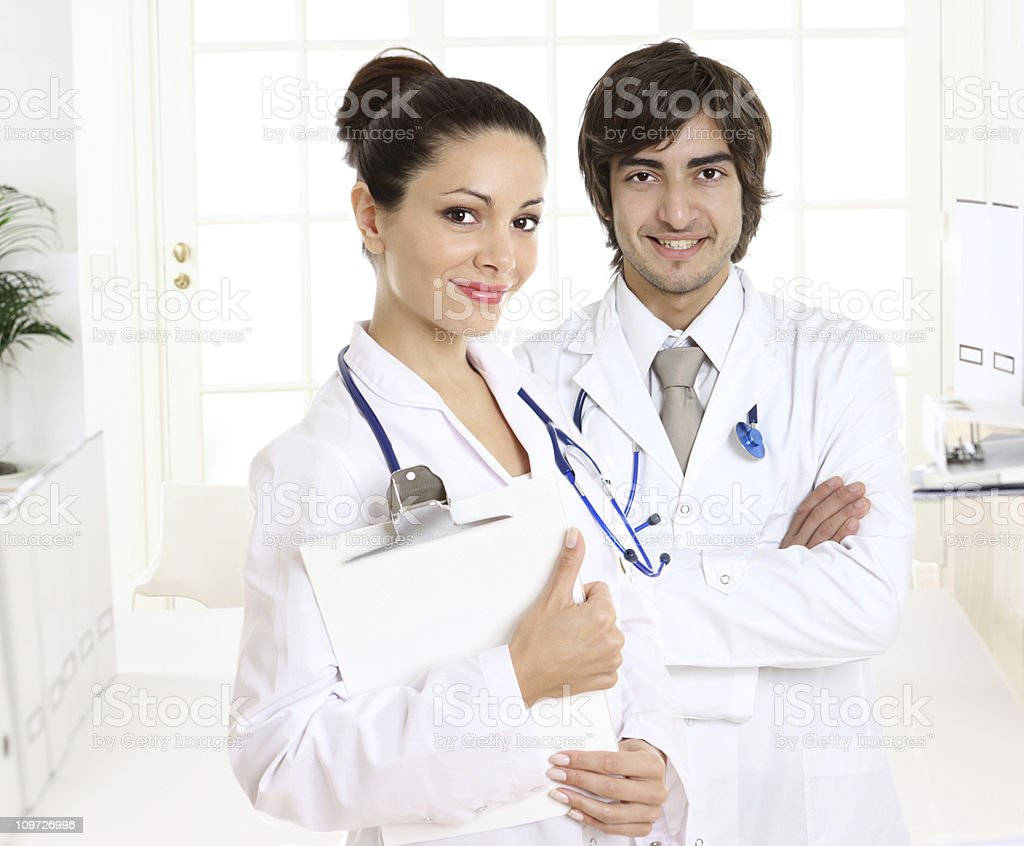 Medical stuff royalty-free stock photo