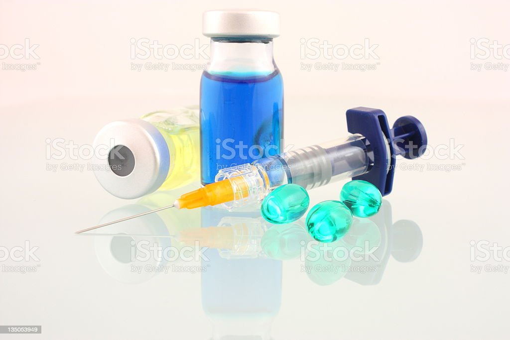 Medical supplies royalty-free stock photo