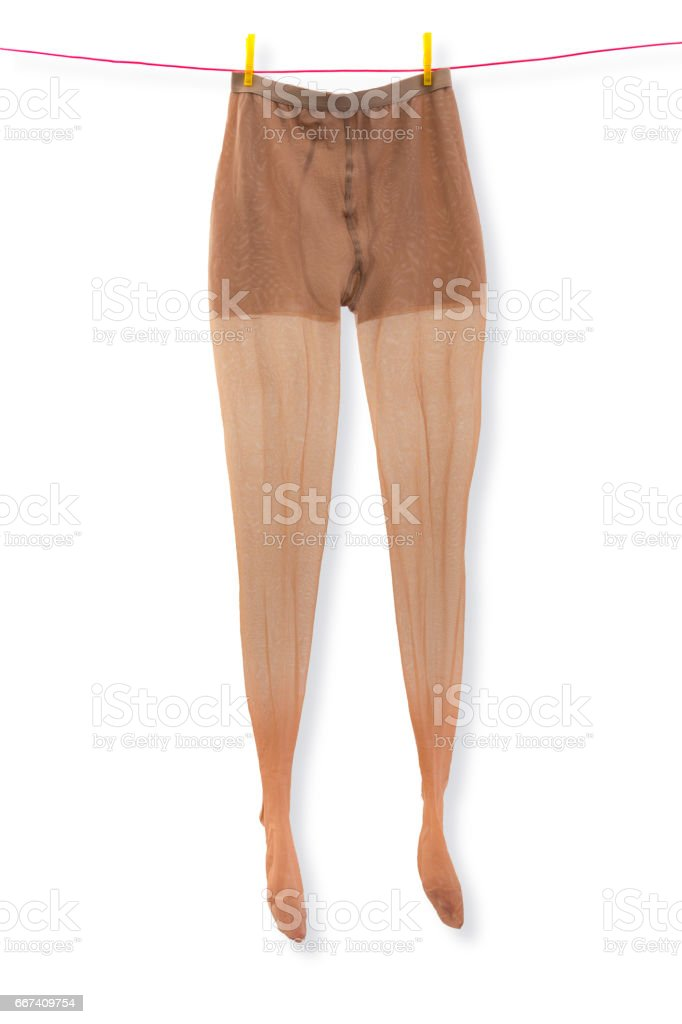Medical support tights stock photo