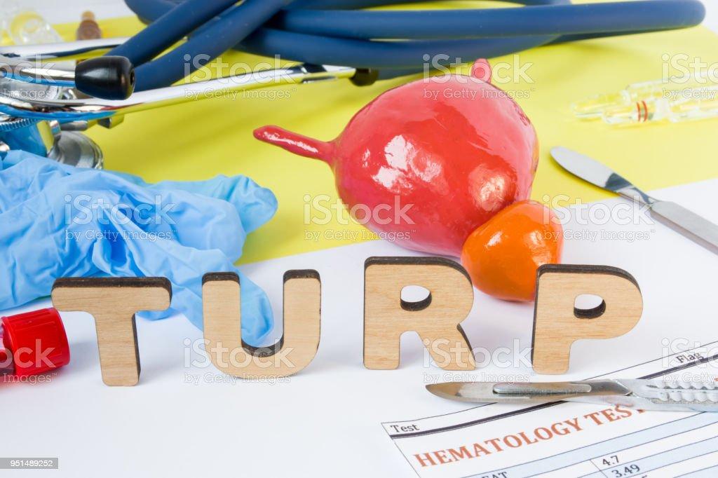 procedimientos de cirugía de próstata turp