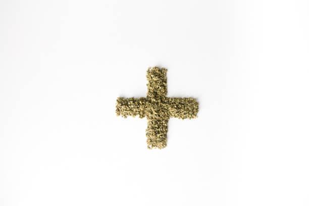 Medical Symbol for Marijuana Cannabis stock photo