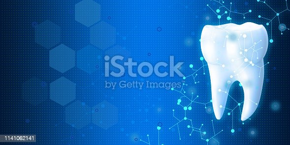 istock Medical symbol image on high tech blue background 1141062141
