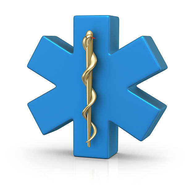 medical symbol - caduceus stock pictures, royalty-free photos & images