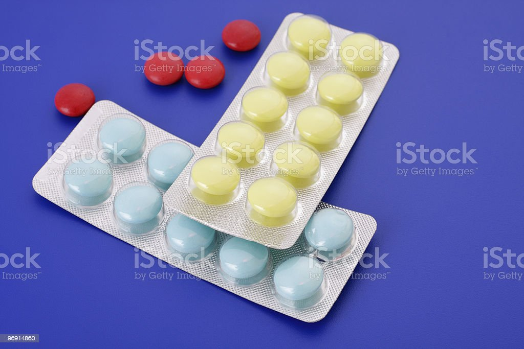Medical Tablets royalty-free stock photo