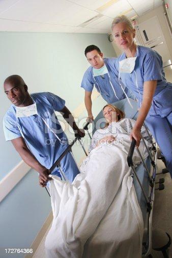 629429900istockphoto Medical Team Gurney 2 172764366
