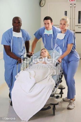 629429900istockphoto Medical Team Gurney 172641015