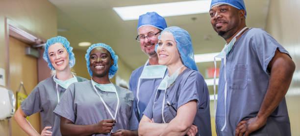 Medizinisches Team im Krankenhaus – Foto