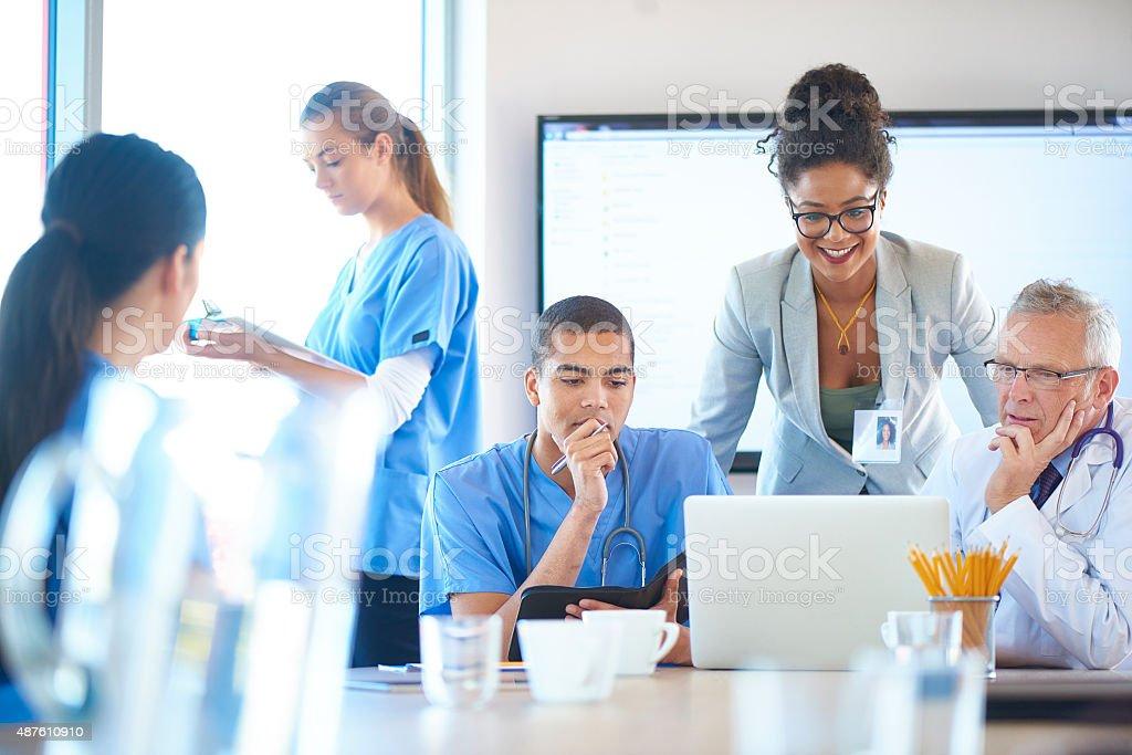 Medizinisches team-Meetings – Foto