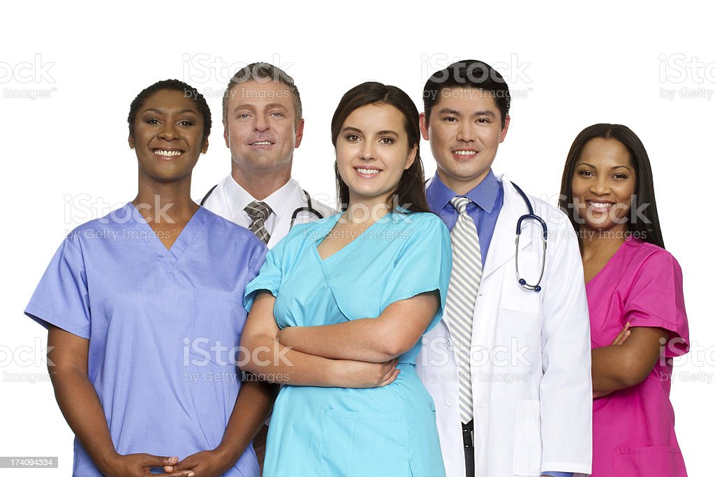 Medical Team royalty-free stock photo