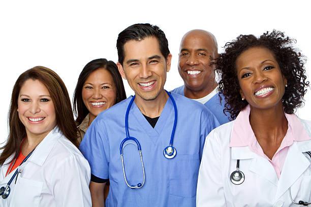 Team medico - foto stock