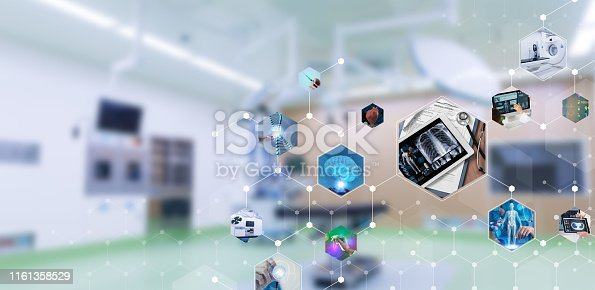 864464934istockphoto Medical technology and communication network concept. 1161358529