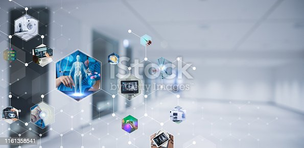 864464934istockphoto Medical technology and communication network concept. 1161358541