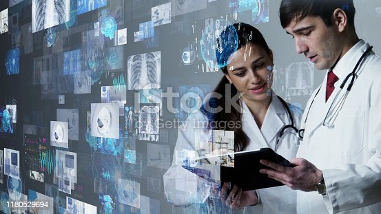 875483824istockphoto Medical technology concept. Electronic medical record. Telemedicine. 1180529694