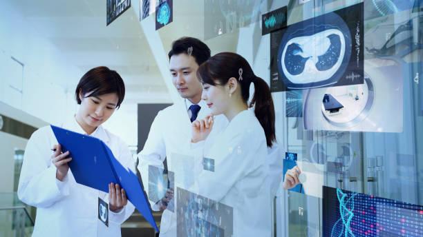 医療技術の概念。病院の医師。 - 医療処置 ストックフォトと画像