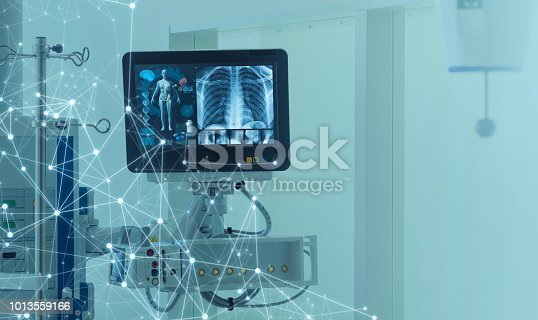 istock Medical technology concept. Medical instruments. 1013559166