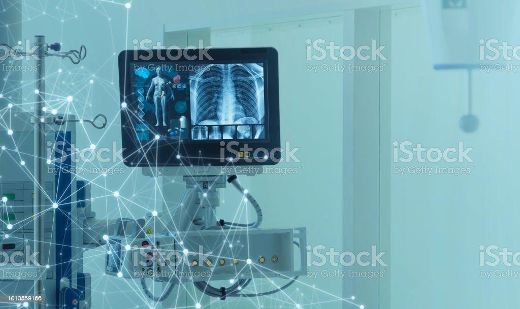Medizintechnik-Konzept. Medizinische Instrumente. – Foto