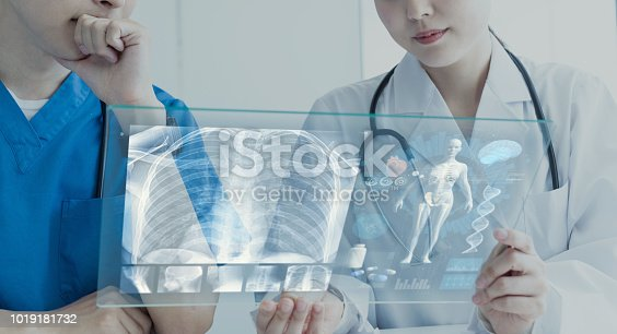 864464934istockphoto Medical technology concept. 1019181732