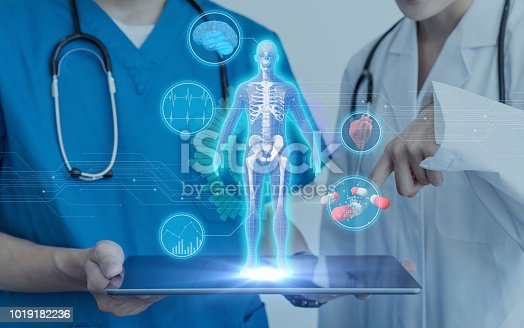 864464934istockphoto Medical technology concept. 1019182236