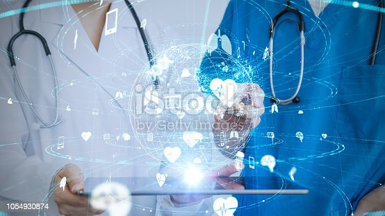 966874060istockphoto Medical technology concept. 1054930874