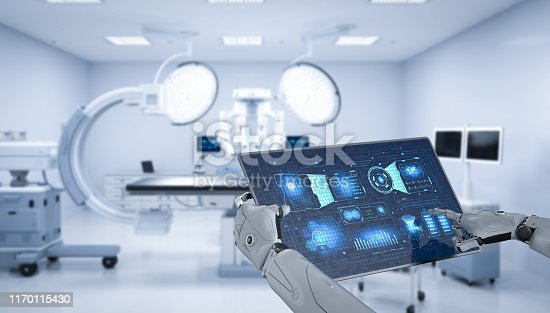 875483824 istock photo Medical technology concept 1170115430