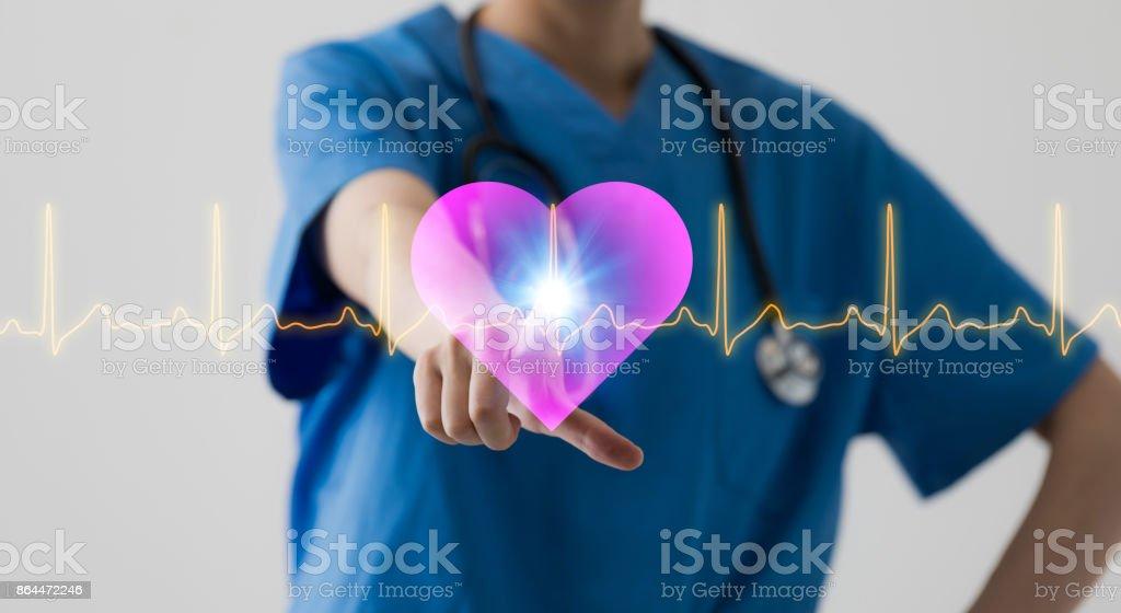 Conceito de tecnologia médica. - foto de acervo