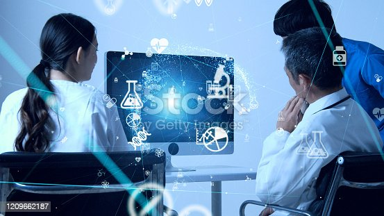 966874060istockphoto Medical technology concept. Research and Development. Drug discovery. 1209662187