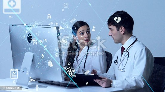 966874060istockphoto Medical technology concept. Research and Development. Drug discovery. 1209662251
