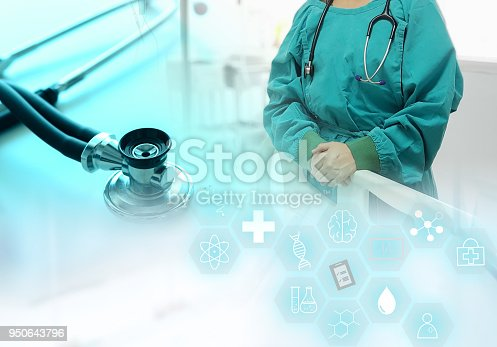 845455852 istock photo Medical Technology doctor 950643796