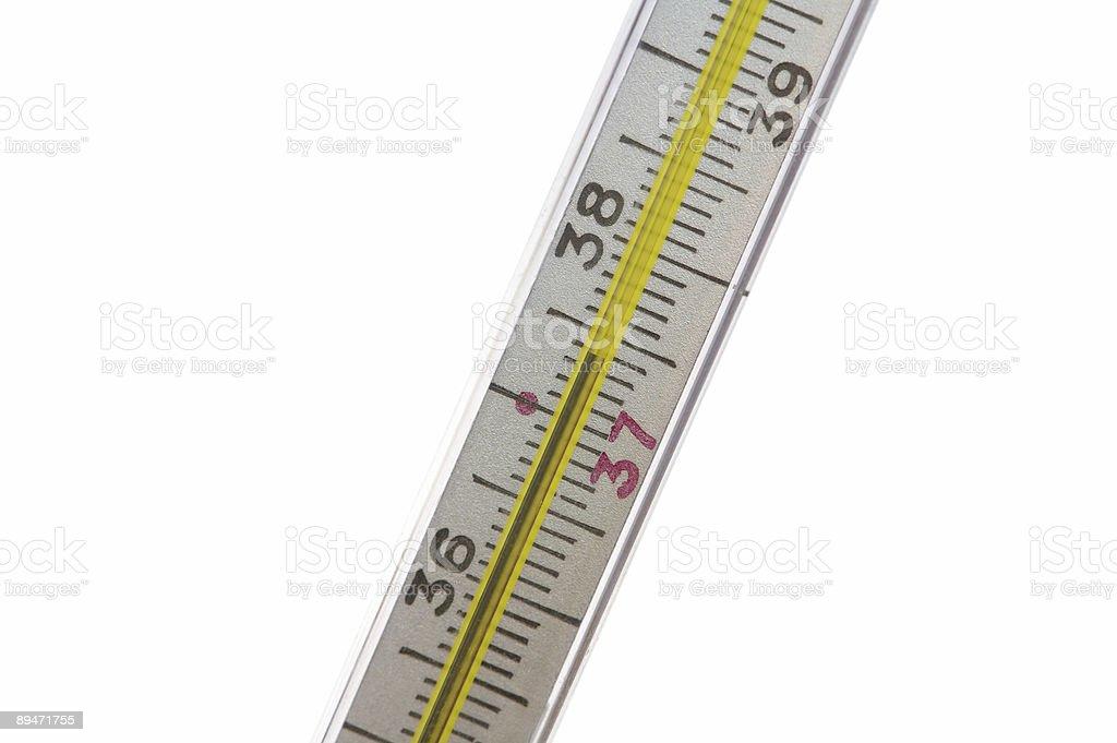 Медицинский термометр Стоковые фото Стоковая фотография