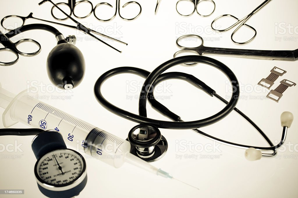 medical tools royalty-free stock photo