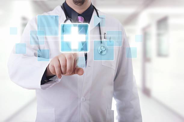 Medizinischer touchscreen – Foto