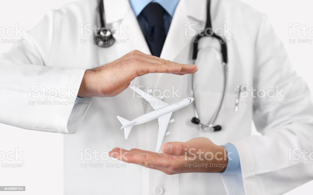 medical tourism healthcare travel insurance concept stock photo