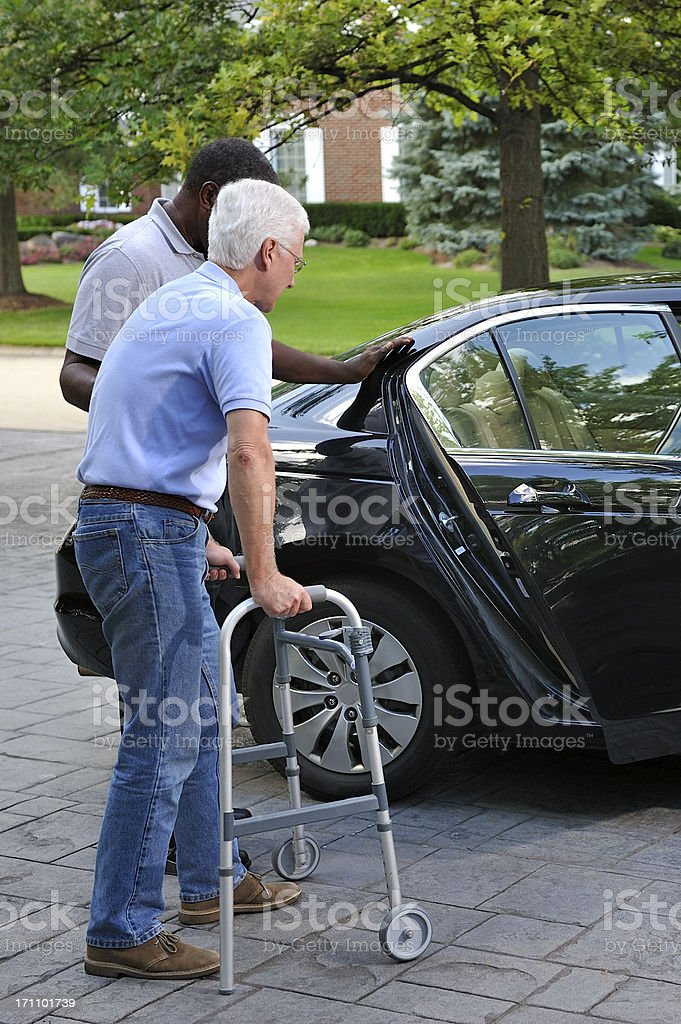 Medical Transportation royalty-free stock photo