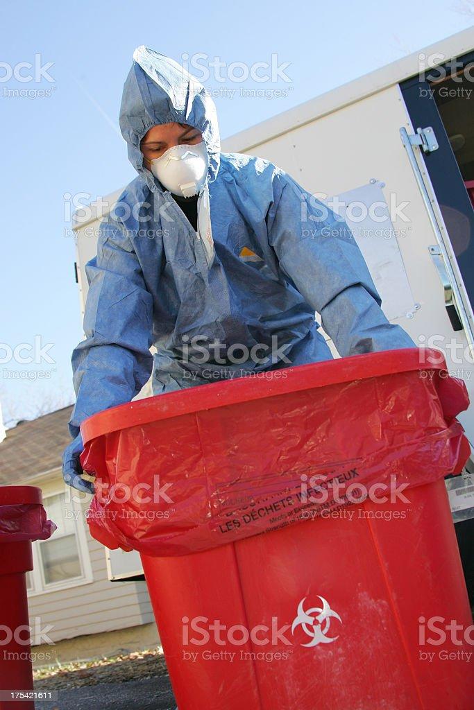 Medical Waste stock photo