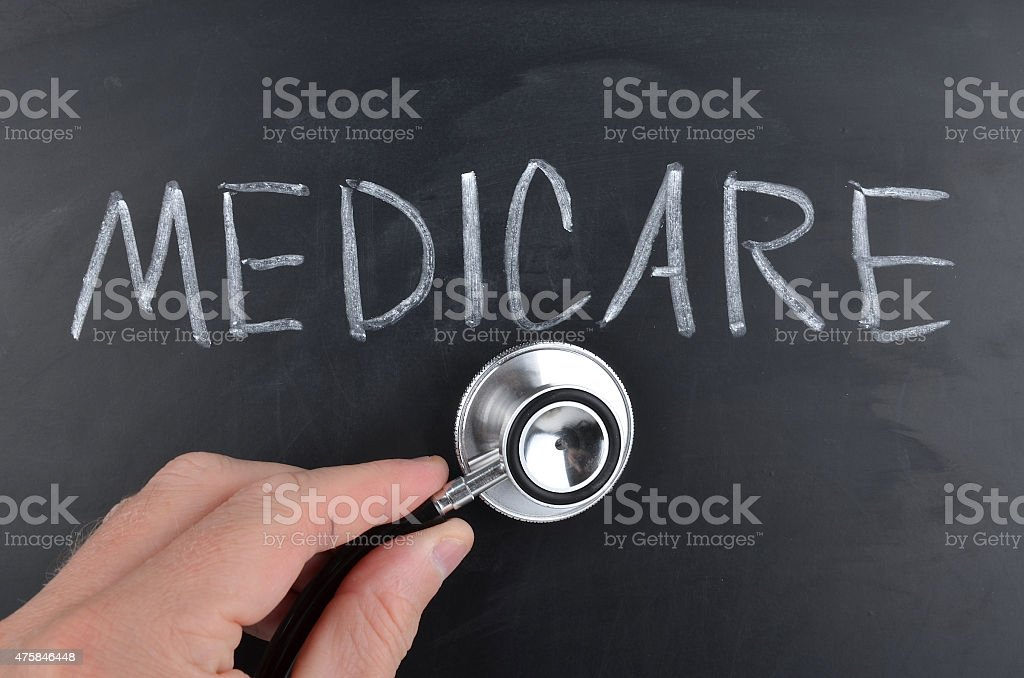 Medicare Concept stock photo