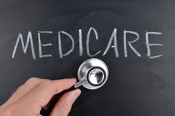 Medicare Concept stock photo