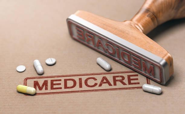 Medicare, National Health Insurance Program in den Vereinigten Staaten. – Foto