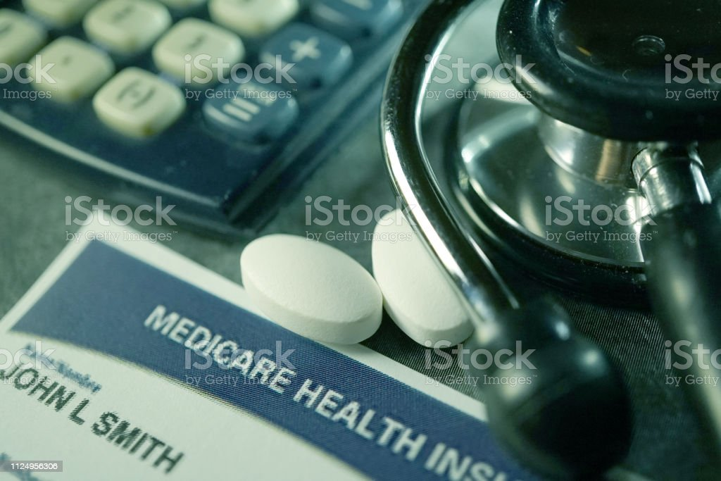 close up shot of word medicare
