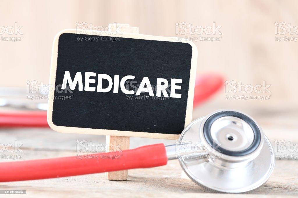 Medicare text concept
