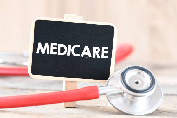 Medicare Medicare text concept medicare stock pictures, royalty-free photos & images