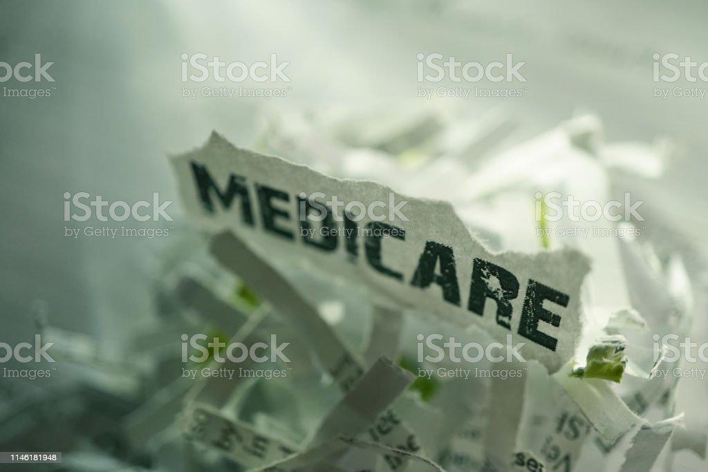 close up shot of medicare card