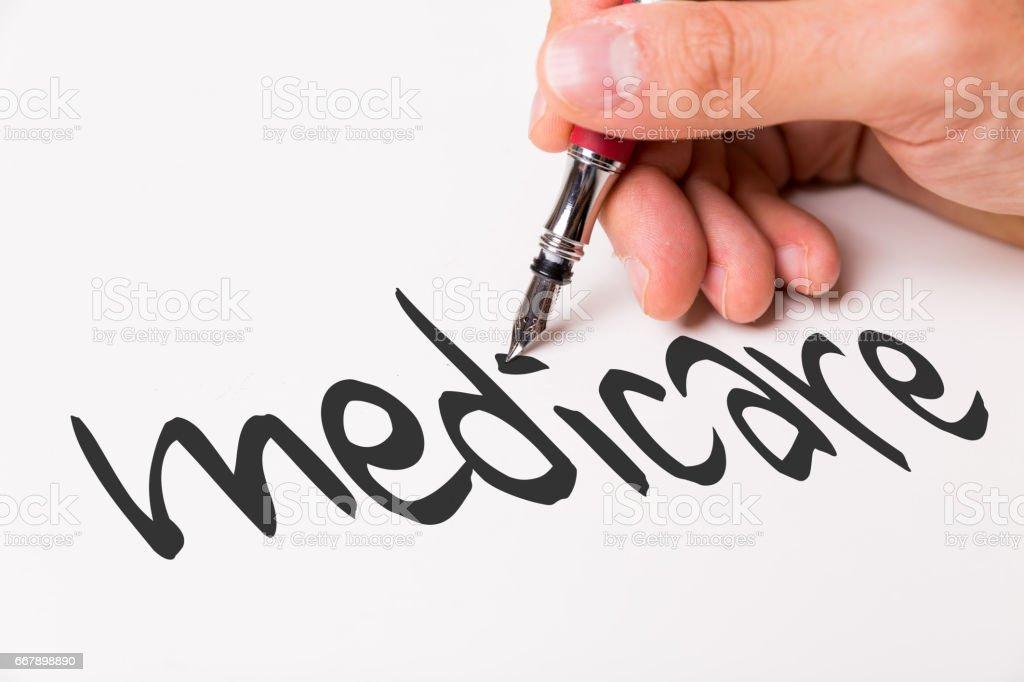 Medicare handwriting