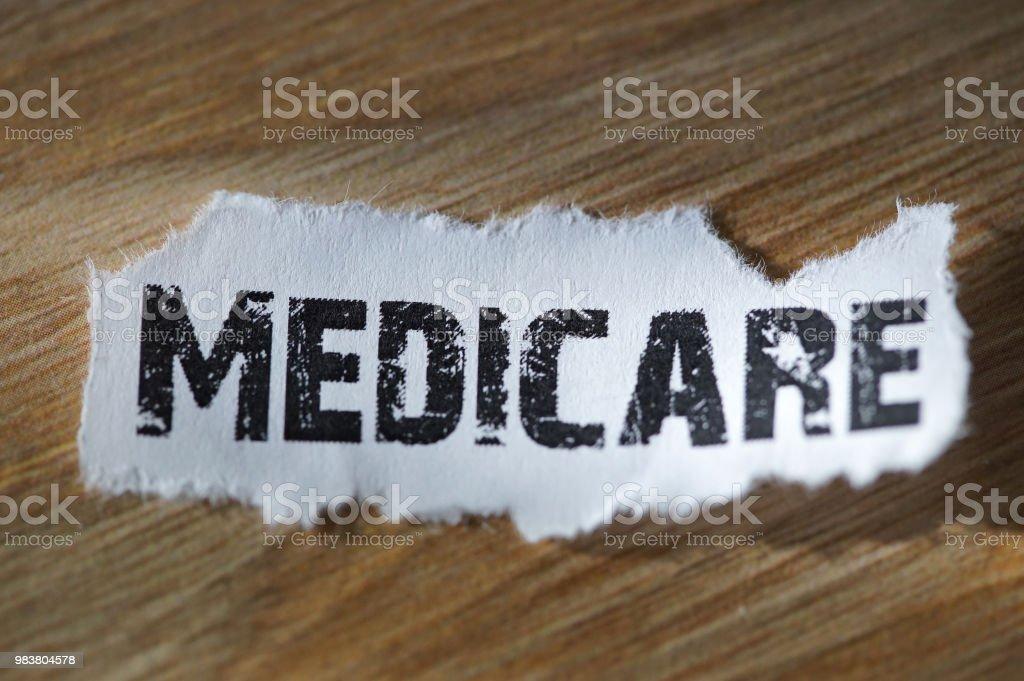 shot of word medicare