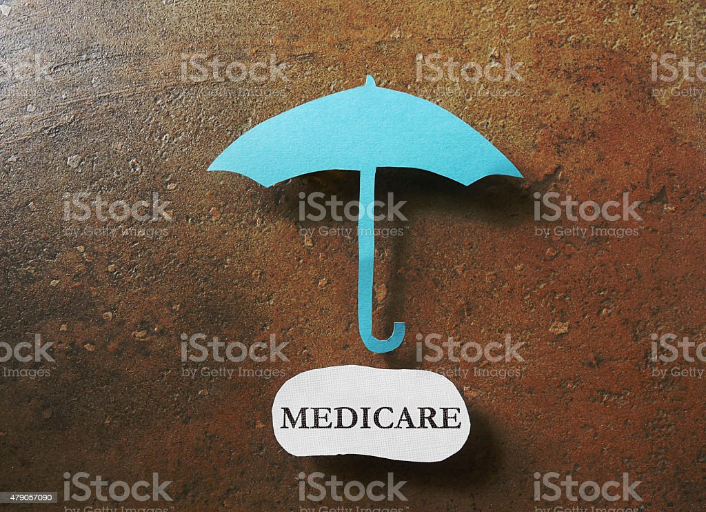 medicare protection stock photo