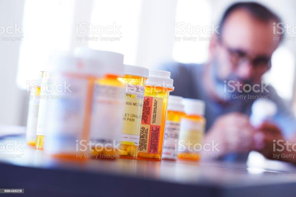 Médicament de dépendance - Photo